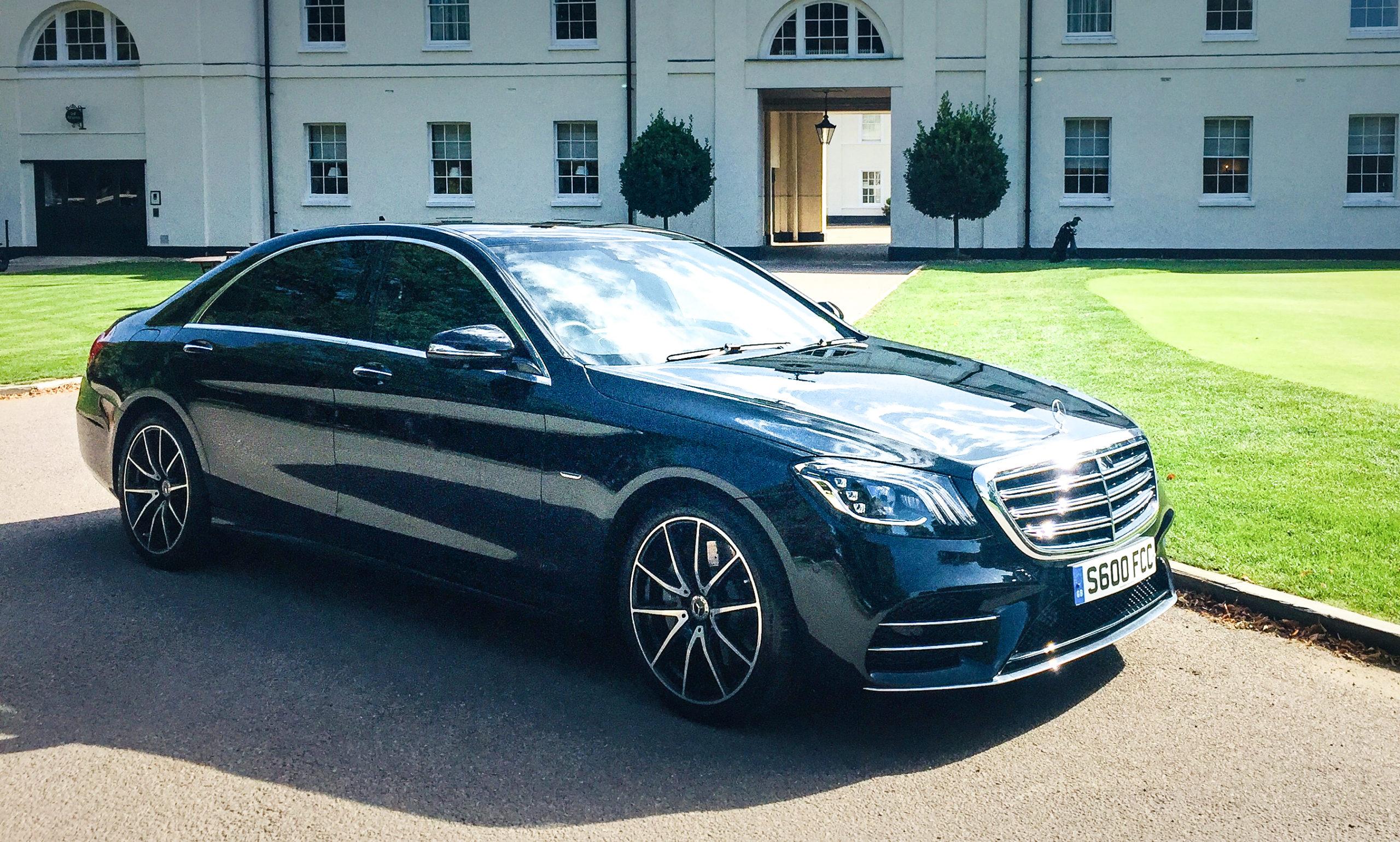 Mercedes S Class, A First Class Cars Chauffeur vehicle