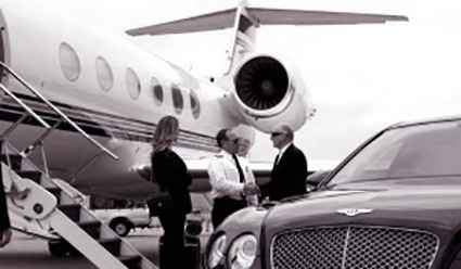 Chauffeur service from all london airports runways