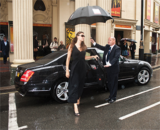 First class Chauffeurs get you to your destination no matter the weather