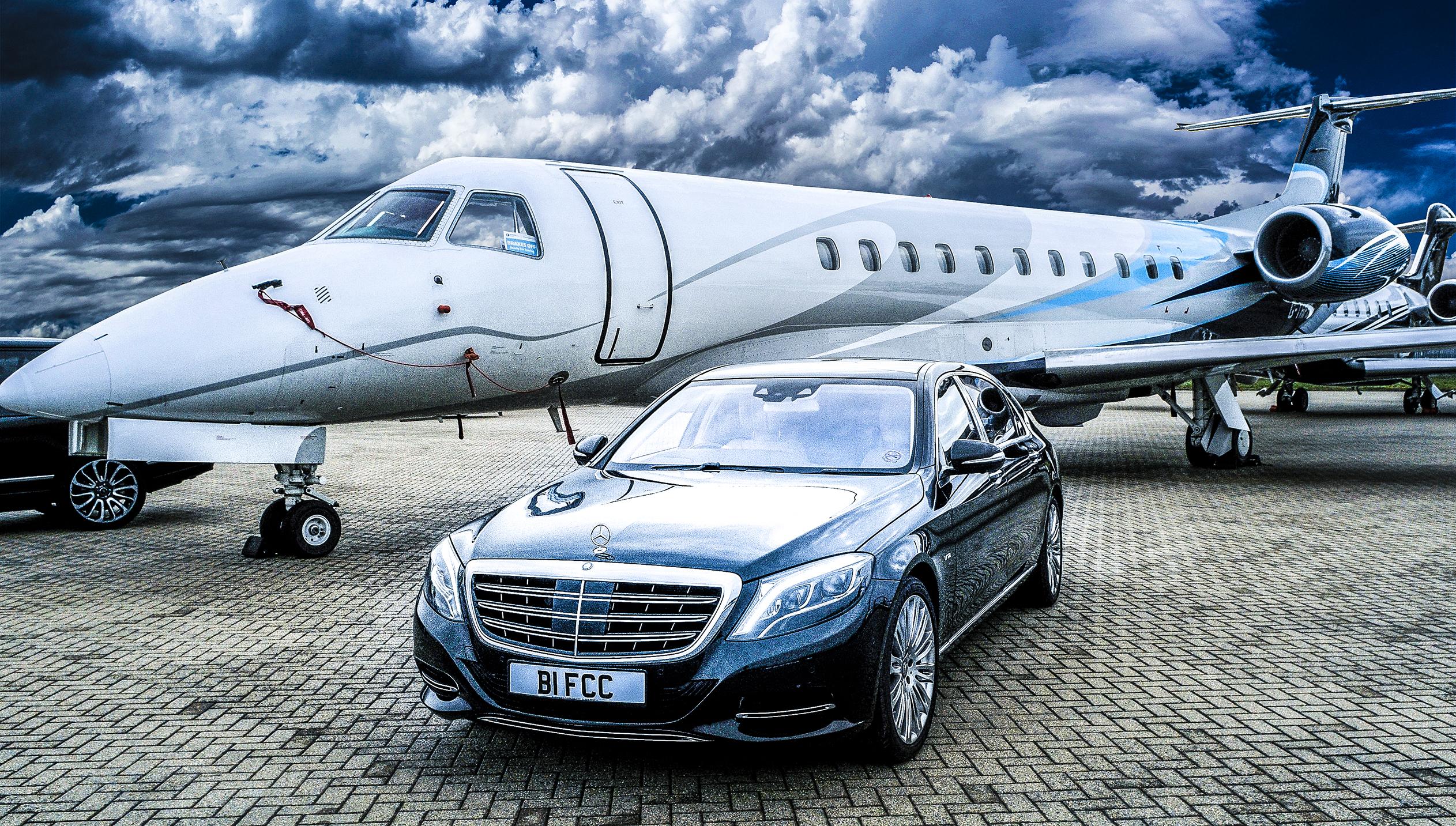 chauffeur car from Luton Airport