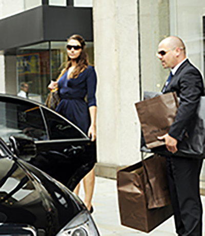 First class Chauffeurs for all your shopping needs